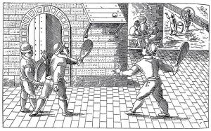 Tennis nel medioevo
