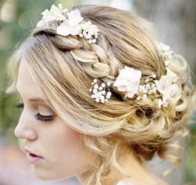Capigliatura da sposa stile greco
