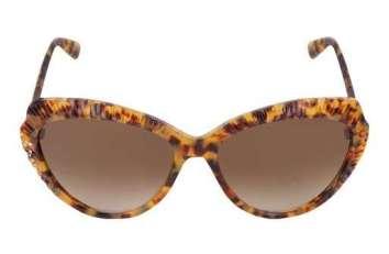 Occhiali leopardati