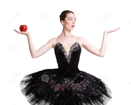 il-bello-ballerine-con-la-mela-e-la-copia-spaziano-disposizione-82511971-e1515173339960.jpg