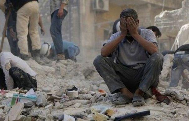 Risultati immagini per bombe in siria