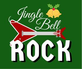 scritta jingle bell rock