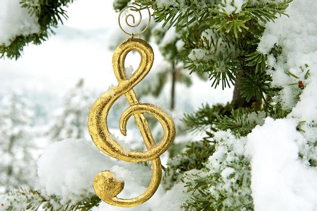 nota musicale sull'albero