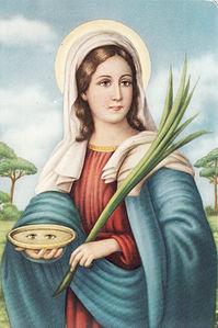 immagine di Santa Lucia