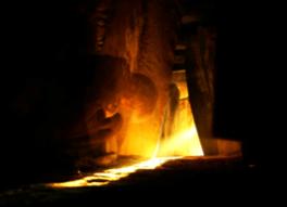 grotta con solstizio d'inverno