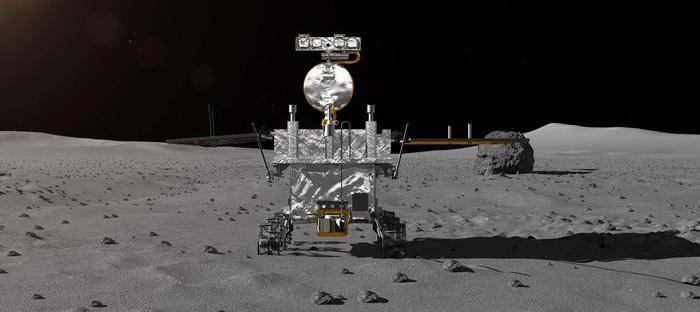 sonda cinese Chang'e-4 atterrata sul lato oscuro della luna